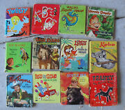 Big Lot Of 12 Vintage 1950s Whitman Tell A Tale Childrens Books 2