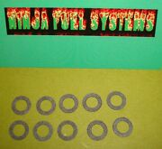 Squirter Gasket 10 Pack For Holley 4150 2300 600 650 750 850 950 1050 1150