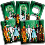Wizard Of Oz Dorothy Toto Cowardly Lion Scarecrow Tin Man Light Switch Outlets