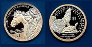 2012 And 2013 S Proof Sacagawea Native American Dollar-two Dollars Gem Proof