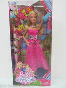 Barbie Doll And Accessories From - Barbie And Her Sisters In A Pony Tale - Ages 3+