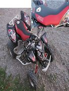 Honda Trx 400ex Gripper Seat Cover And Graphics Kit