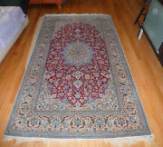 Super Fine Stored For 35 Years Beautiful Persian Rug - 4and0392x7and0399