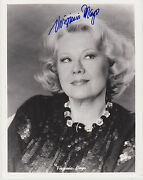 Signed Virginia Mayo 8x10 Photo Best Years Of Our Lives White Heat Red Light