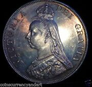 Great Britain 1887 Double Florin Queen Victoria Amazing Colours And Toning