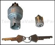 Ignition Switch And Lock Tumbler Set For 1957-1959 Dodge Passenger Cars