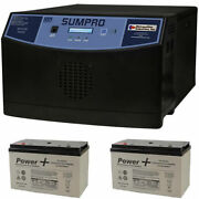 Sumpro 100 By Ion Products Fully-automatic 1800w Auxiliary Power Source W/ 2 ...
