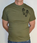 Boot Campfitness Army Military Combat T-shirt