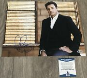 Nathan Fillion Signed Castle Firefly 11x14 Photo W/exact Proof And Beckett Bas Coa