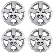 17 Silver Bolt-on Wheel Covers / Hubcaps For Chevy Malibu / Pontiac G6