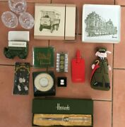 Harrods Gifts -teapot Stand- Dish- Crystal Coaster- Cheese Grater-more Listed