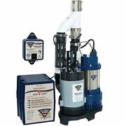 Pro Series Ps-c33 - 1/3 Hp Combination Primary And Backup Sump Pump System