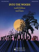 Into The Woods Revised Edition Sheet Music Piano Vocal Selections Book 000313442