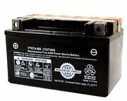 12v 7ah Battery Ytx7a-bs Motorcycle Scooter Atv Buggie Brand New Go Kart Free