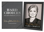 Hillary Clinton Hard Choices Signed Limited First Edition Coa Leather Bound Box