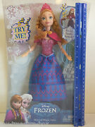 Disney Frozen - Anna Of Arendelle Doll - Musical Magic Anna- Ages 3 And Up