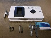 New Southco Boat White Sealed Sliding Cabin Entry Door Latch Lock Mf-02-110-70