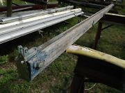 14 Foot 2.0 Inch Vintage Wood Boom With Bronze Hardware 5 X 3 Cross Section