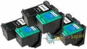 6 Compatible Hp56/57 Non-oem Ink Cartridges
