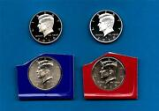2010 Pdss Bu Plus Silver And Clad Proof Kennedy Half Dollar Update Set- 4 Coins