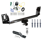 Trailer Tow Hitch For 07-18 Bmw X5 Complete Package W/ Wiring Kit And 2 Ball