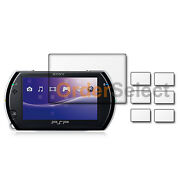 6x Ultra Clear Hd Lcd Screen Shield Guard Protector For Sony Playstation Psp Go