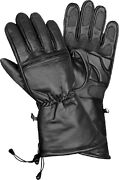 Menand039s Cold Weather Waterproof Gauntlet Glove W/ Gel Pam And Draw Tight String