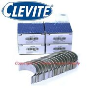 Set Of 8 Clevite Standard Size Rod Bearings Chevy Bb 348 396 409 427 454 496 Std