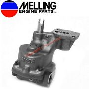 New Melling Stock Oil Pump 1993-2002 Chevy Sb 350 305 265 Vortec With 3/4 Inlet