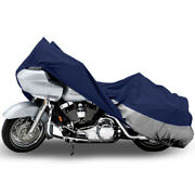 Motorcycle Cruiser Bike Weatherproof Cover Shelter Storage Covers 107 Length