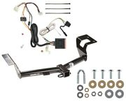 Trailer Tow Hitch For 12-16 Honda Cr-v All Styles Receiver W/ Wiring Harness Kit