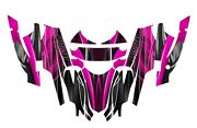 Arctic Cat Firecat Sabercat Graphics 2003 2004 2005 2006 F5 F6 F7 3333 Hot Pink