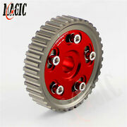 Adjustable Cam Gears Pulley Timing Gear For Honda Sohc D15/d16 D-series Red