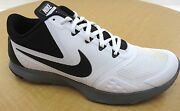 Nike Fs Lite Trainer 2- Wht/blk Synthetic/mesh Mens Running Shoe - Nwd