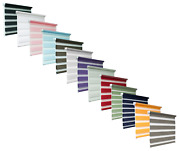 Day And Night Zebra/vision Window Roller Blinds 13 Colours 19 Sizes 150cm Drop