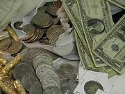 Estate Lot 20+old Obsolete Us Coins Silver Gold Currency + 125 Years Old