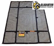 Ripproof Cargo Mesh Tarp- Extra Large Xmt-100   By Gladiator Cargo Gear