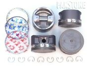 Upgraded Piston/oes Rings .50mm For 95-04 Toyota 2.4l Tacoma 4cyl 16v 2rzfe