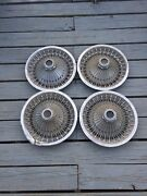 70 71 72 73 74 Dodge Charger Challanger 14 Hub Cap Wire Spoked Set Unrestored