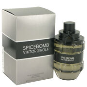 Spicebomb By Viktor And Rolf 3 Oz 90 Ml Edt Cologne Spray For Men New In Box