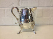 Antique Mermod Jaccard And Co Silver Plated Aethetic / Victorian Era Creamer
