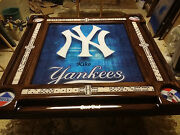 Yankees Poster Domino Table By Domino Tables By Art