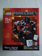 Lego® Cuusoo 21106 Minecraft The Nether Neu And Ovp / New Sealed