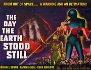 The Day Earth Stood Still 22x30 Hand Numbered Ltd. Edition Sci-fi Movie Poster