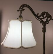 Bridge Floor Lamp Shade V Notch For Antique Lamp Tailor Made Lampshades