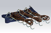 Degroff Aviation Portable Aircraft Tie Down Kit With Anchors And Bag - 5096