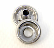 Snap Button And Socket Stainless Steel Line 24 Standard Size 75 Piece Set