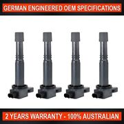 4 X Oem Quality Ignition Coil For Honda Accord Cp2 Cr-v Odyssey Rb 2.4l