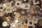 Us And World Coins Estate Sale Lot ☆ Silver Bars Proofs Currency Keydates Errors