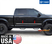 Tyger Fits Body Side Molding Trim Dodge 09-2018 Ram Mega Cab 1.5and039and039 Wide 4pc